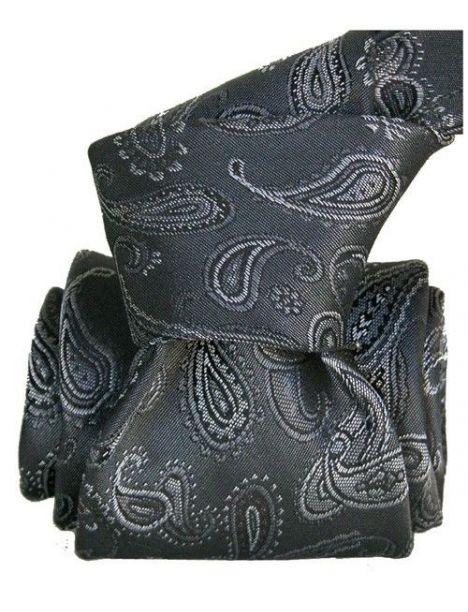 Cravate Segni Disegni LUXE, Faite main, Alexandrie gris Segni et Disegni Cravates