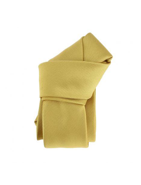 Cravate Slim, Birmingham, jaune gold