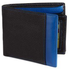 Portefeuille cuir, Simon Carter, Blue Wallet