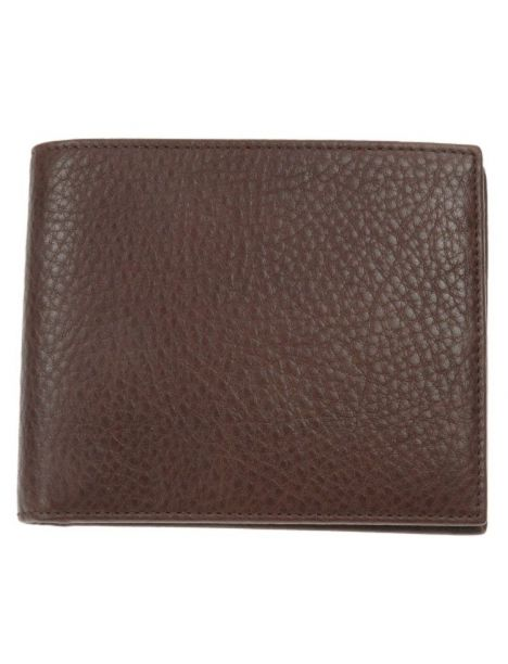 Portefeuille cuir, Simon Carter, Soft Leather coin wallet Brown Simon Carter Petite Maroquinerie