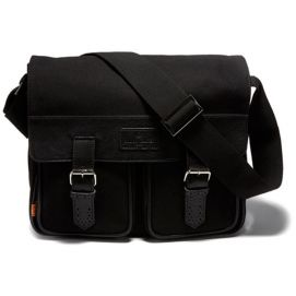 Sac homme, SIMON CARTER, Rye Satchell Black Simon Carter Sac ordinateur