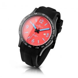 Montre, Kennett Altitude Watch - Lava Red and Med Blue Kennett Montres