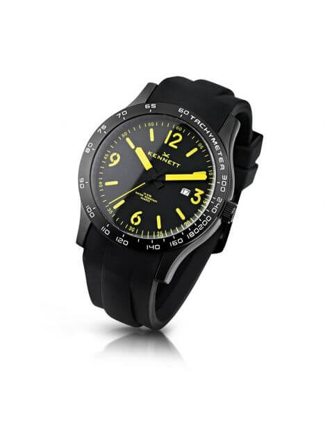 Montre, Kennett Altitude Watch - Black and traffic Yellow Kennett Montres