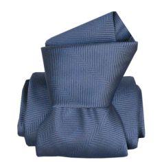 Cravate Segni Disegni LUXE, Faite main, Arletti Bleu