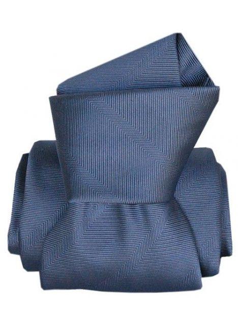 Cravate Segni Disegni LUXE, Faite main, Arletti Bleu Segni et Disegni Cravates