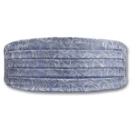 Ceinture de Smoking Cummerbund Rose Ice Blue