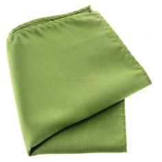 Pochette menton, vert anis