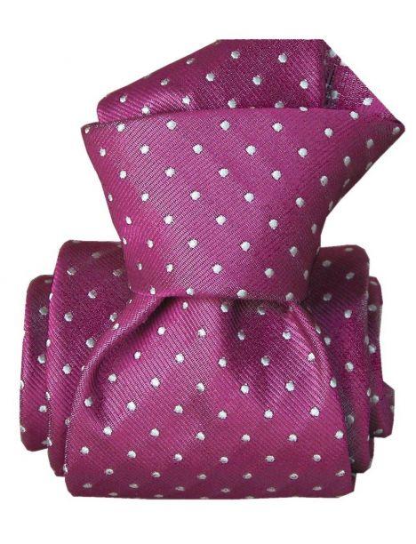 Cravate Segni Disegni LUXE, Faite main, Artemis Aubergine Segni et Disegni Cravates