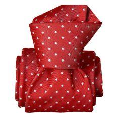 Cravate Segni Disegni LUXE, Faite main, Artemis Rouge