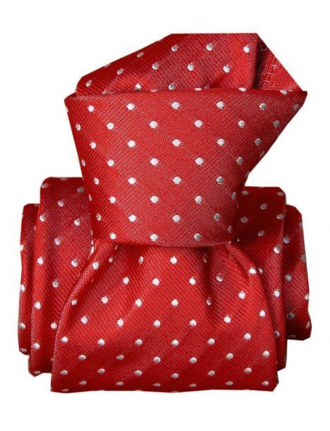 Cravate Segni Disegni LUXE, Faite main, Artemis Rouge Segni et Disegni Cravates