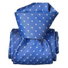Cravate Segni Disegni LUXE, Faite main, Artemis Bleu Segni et Disegni Cravates