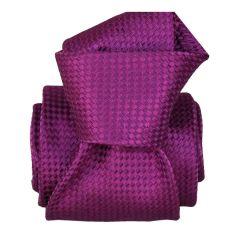 Cravate Segni Disegni LUXE, Faite main, Ukania Violet Segni et Disegni Cravates
