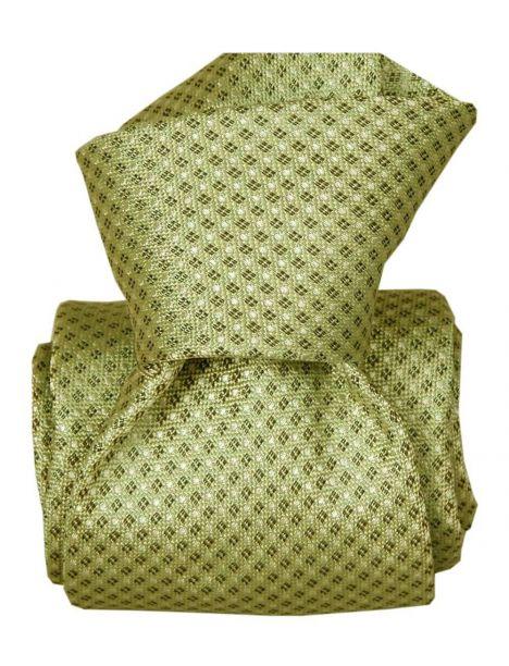 Cravate Segni Disegni LUXE, Faite main, Apolin Vert Segni et Disegni Cravates