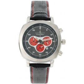 Montre, Kennett, Challenger black and red chronograph