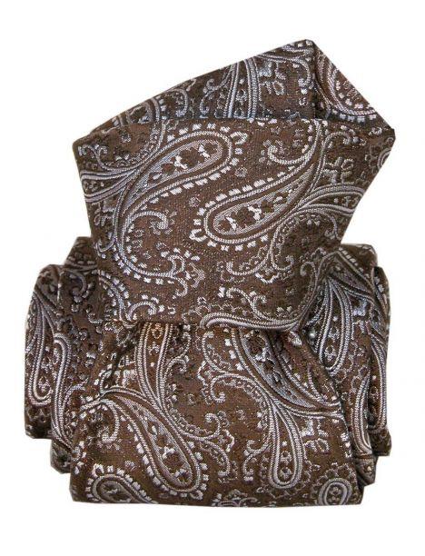Cravate Classique Segni Disegni, Denver marron Segni et Disegni Cravates