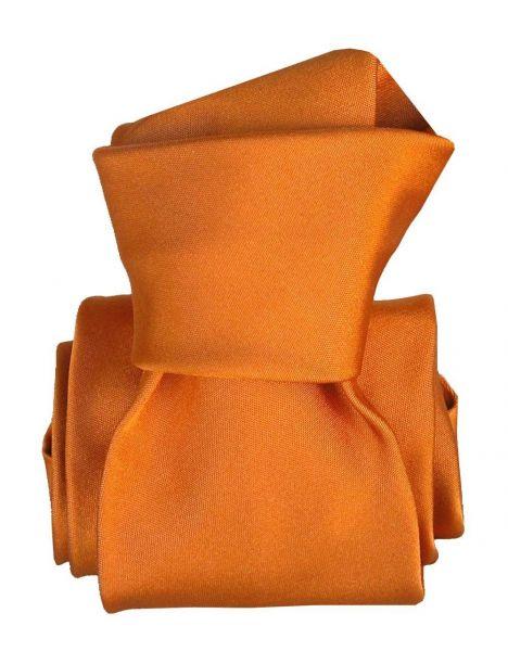 Cravate Classique Segni Disegni, Satin Orange Segni et Disegni Cravates