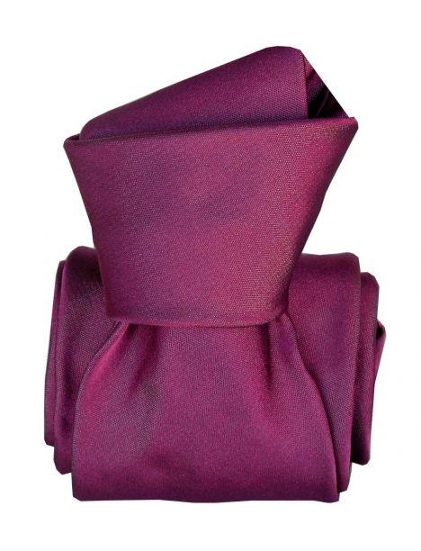 Cravate Classique Segni Disegni, Satin Prune Segni et Disegni Cravates
