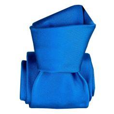 Cravate Classique Segni Disegni, Satin Bleu