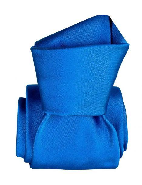 Cravate Classique Segni Disegni, Satin Bleu Segni et Disegni Cravates