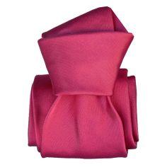 Cravate Classique Segni Disegni, Satin Fuchsia