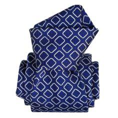 Cravate Segni Disegni LUXE, Faite main, Aramis bleu