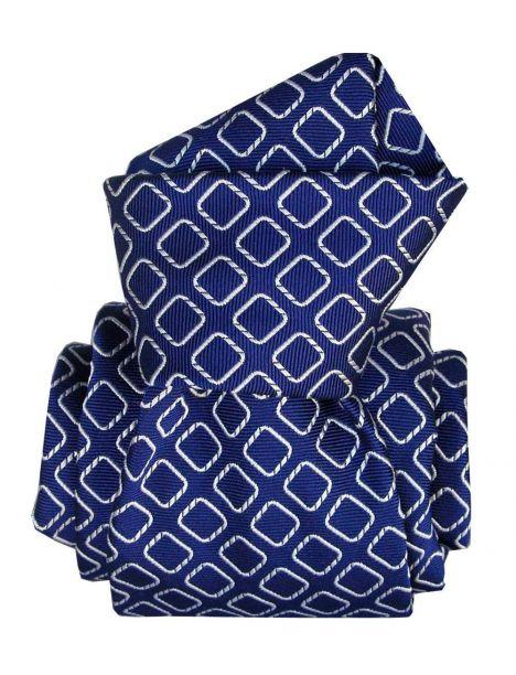 Cravate Segni Disegni LUXE, Faite main, Aramis bleu Segni et Disegni Cravates