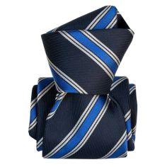Cravate Segni Disegni LUXE, Faite main, Gladys Bleu