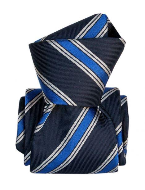 Cravate Segni Disegni LUXE, Faite main, Gladys Bleu Segni et Disegni Cravates