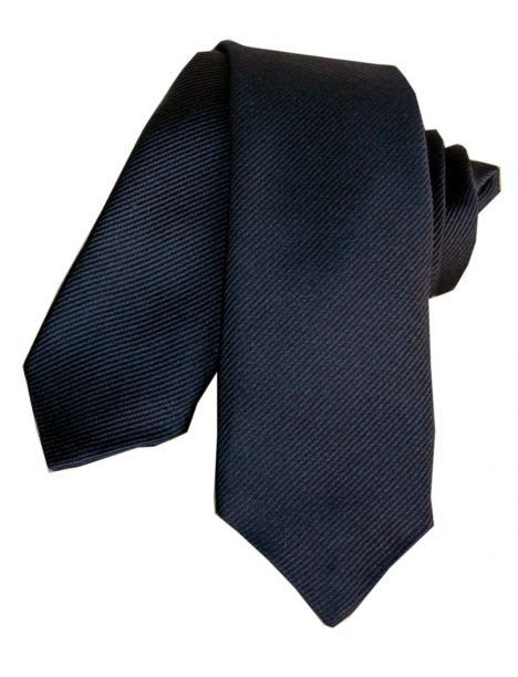 Cravate Segni Disegni CLASSIC, Slim Marine Segni et Disegni Cravates