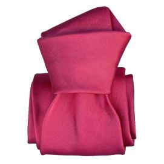 Cravate Segni Disegni LUXE, Faite main, Satin Fuchsia