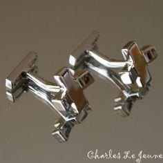Bouton de Manchette CLJ, Croix