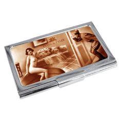 Porte cartes de visite T&T, Cheeky Boy Tyler & Tyler Porte cartes de visite
