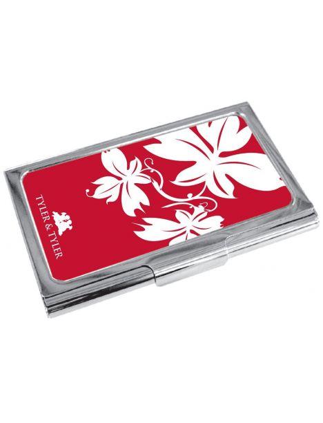 Porte cartes de visite T&T, Vine Red Tyler & Tyler Porte cartes de visite