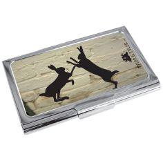 Porte cartes de visite T&T, Sparring Hares WB Tyler & Tyler Porte cartes de visite