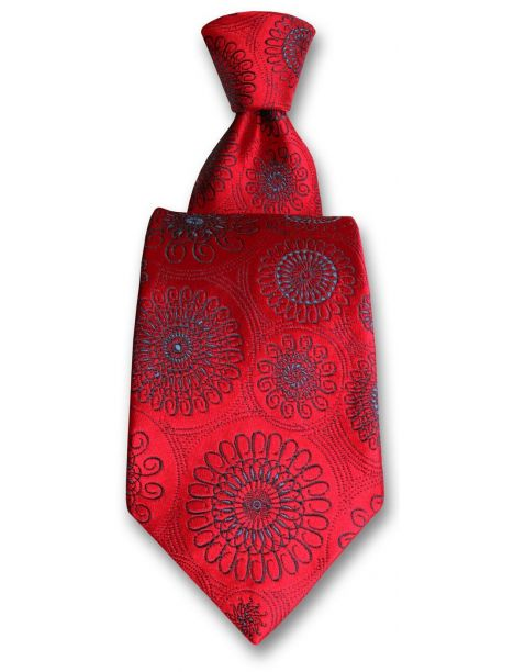 Cravate Robert Charles Astoria rouge et bleu Robert Charles Cravates