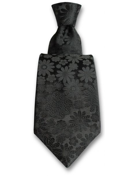 Cravate Robert Charles Pisa noir Robert Charles Cravates