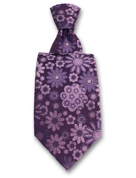 Cravate Robert Charles Pisa violet Robert Charles Cravates