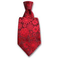 Cravate Robert Charles Pisa rouge