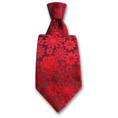 Cravate Robert Charles Pisa rouge Robert Charles Cravates