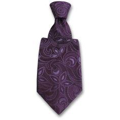 Cravate Robert Charles Victoria violet