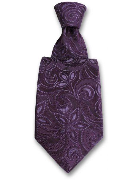 Cravate Robert Charles Victoria violet Robert Charles Cravates
