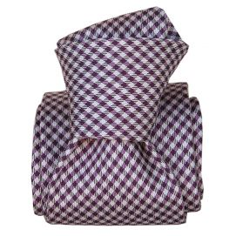 Cravate Segni Disegni LUXE, Faite main, Madrid violet
