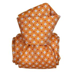 Cravate Segni Disegni LUXE, Faite main, Seville Orange