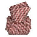 Cravate Segni Disegni LUXE, Faite main, Barcelone Rouge Segni et Disegni Cravates