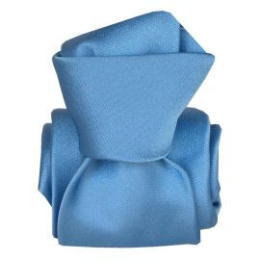 Cravate Segni Disegni LUXE, Faite main, Satin Bleu