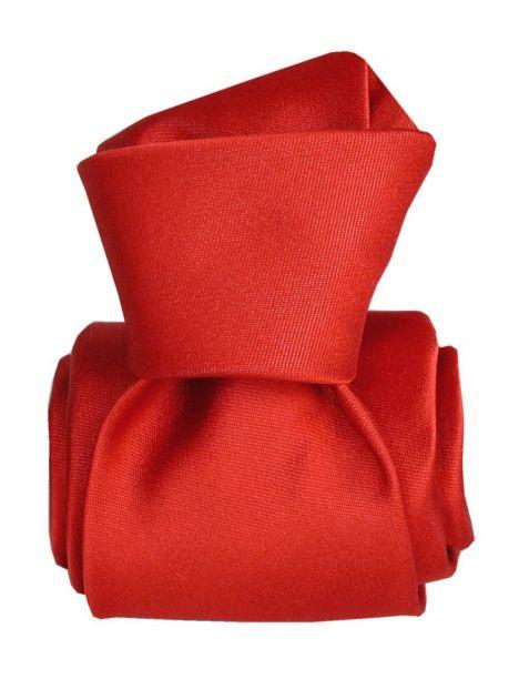 Cravate Segni Disegni LUXE, Faite main, Satin Rouge Segni et Disegni Cravates