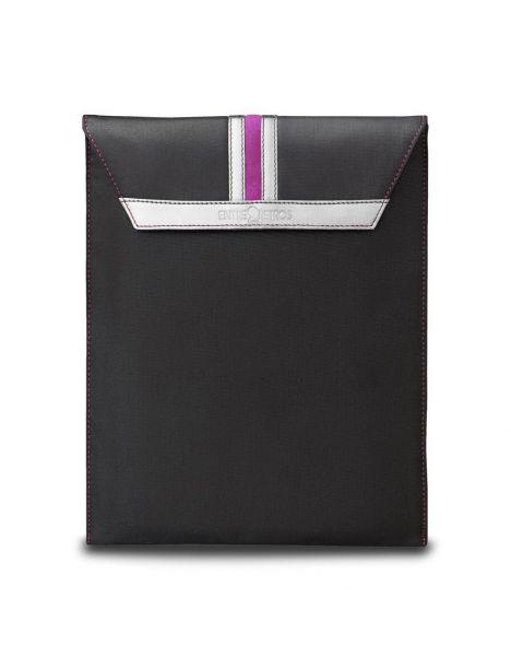 Housse Ipad, noir, rose argent, Paddy3 Entre 2 retros Etuis Tablettes