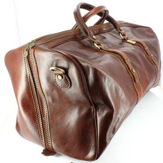 Augusto, sac voyage, Marron clair, Chestnut