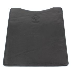 Etuis Ipad ou Tablette cuir, fait main Noir