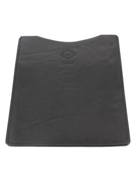 Etuis Ipad ou Tablette cuir, fait main Noir Natalizia Etuis Tablettes